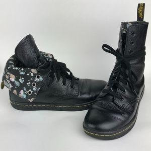 Dr. Martens Stratford Boot Black Leather
